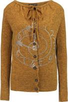 Vivienne Westwood Oasis metallic printed wool-blend cardigan
