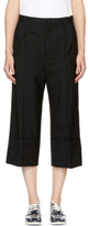 Noir Kei Ninomiya Black Cuffed Trousers