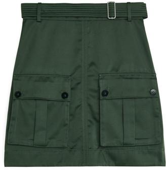 Arket Utility Mini Skirt
