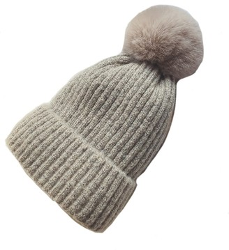 Goodnight Macaroon 'Nicole' Fleece-lined beanie with Pom Pom (6 Colors)