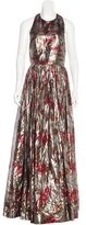 Alice + Olivia Silk-Blend Evening Dress w/ Tags