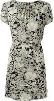 Saint Laurent floral print dress - women - Silk/Viscose - 40