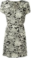 Saint Laurent floral print dress - women - Viscose/Silk - 40