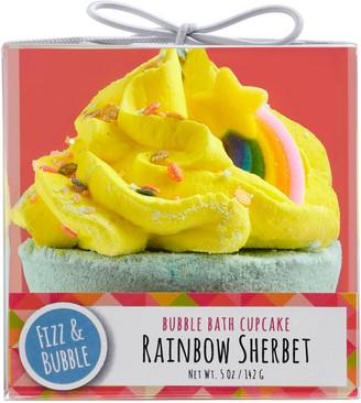 Fizz & Bubble Rainbow Sherbet Bubble Bath Cupcake