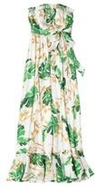 Webster The at Target® Strapless Maxi Dress - Wallpaper Print Cream