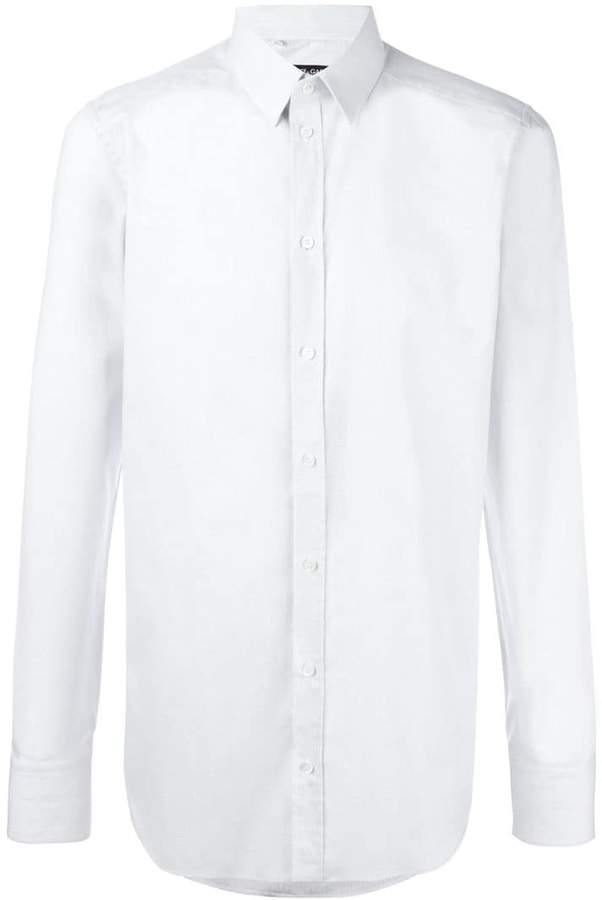 Dolce & Gabbana Gold fit poplin shirt