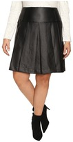 MICHAEL Michael Kors Size Fit and Flare Pleated Skirt
