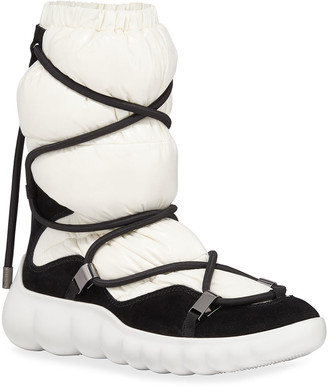 Moncler Cora Quilted Apres-Ski Boots