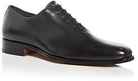 a. testoni A.Testoni Men's Leather Plain Toe Oxfords