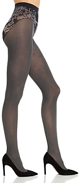 Wolford Kirsten Dot Stripe Tights