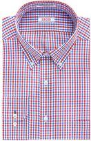 Izod Men's Solid Twill Regular-Fit Button-Down Collar Dress Shirt