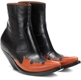 Vetements Leather ankle boots