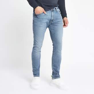 Wrangler Mens River Island light Blue skinny jeans
