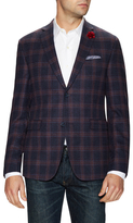 Original Penguin Checkered Notch Lapel Sportcoat