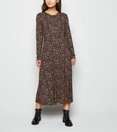 New Look Petite Ditsy Floral Midi Dress