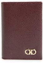 Salvatore Ferragamo 'Ten Forty One' Leather Card Case