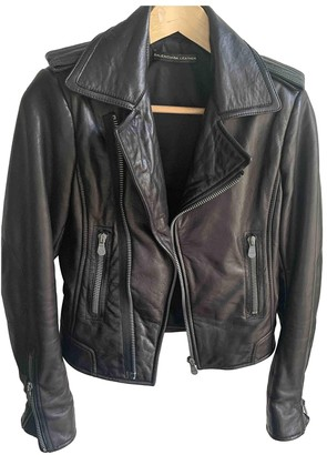 Balenciaga Black Leather Leather jackets