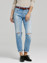 Citizens of Humanity Liya Non-Selvedge High Rise Classic Fit in Torn