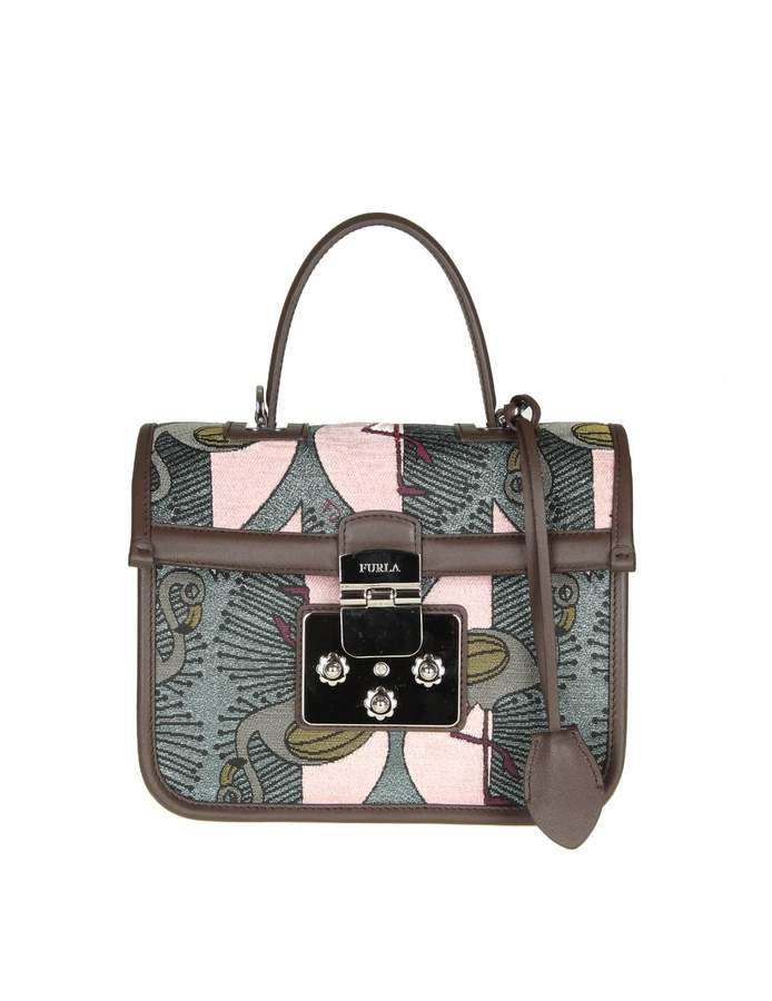 Furla fenice S Hand Bag In Printed Fabric
