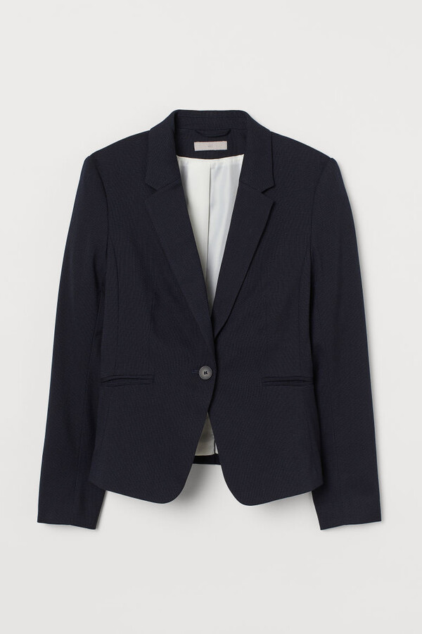 Thumbnail for your product : H&M Fitted Blazer - Blue
