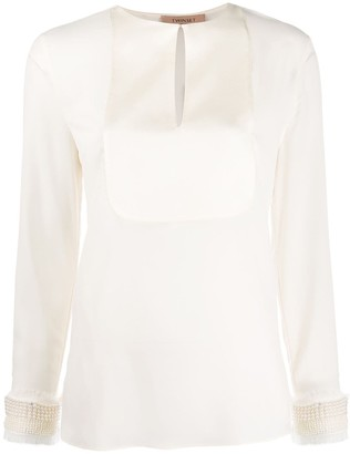 Twin-Set Pearl-Embellished Blouse