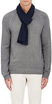 Barneys New York Men's Diagonal-Ribbed Wool-Cashmere Scarf