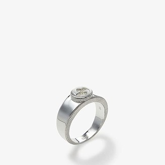 Gucci Interlocking G Ring (Silver) Ring