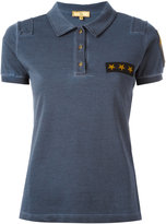 Fay Star patch polo shirt - women - Cotton - M