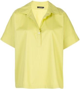 Natori Poplin Henley Shirt