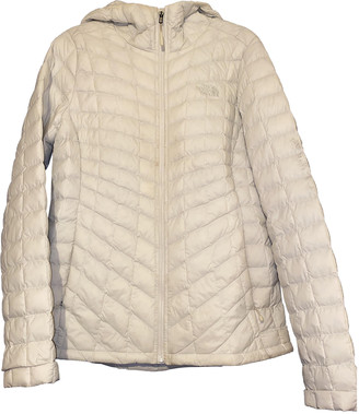 The North Face White Polyester Coats