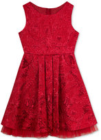 Rare Editions Metallic Paisley Dress, Big Girls (7-16)