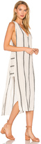 Vix Paula Hermanny Stripe Luanna Caftan in Ivory. - size M (also in )