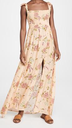 Agua Bendita Leandra Blomma Maxi Dress