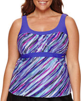 ZeroXposur Tankini Swimsuit Top-Plus