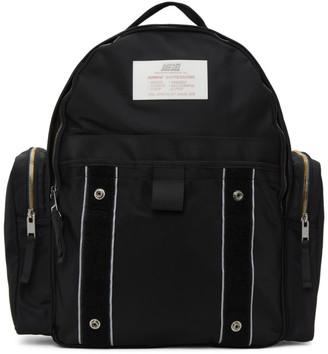 Diesel Black Nylon Bisie Backpack