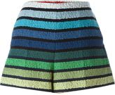 Sonia Rykiel striped loop knit shorts - women - Cotton/Polyamide/Polyester/Cupro - 36