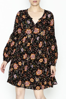 Umgee USA Longsleeve Floral Dress