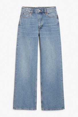 Monki Yoko mid blue jeans
