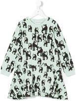 Mini Rodini panther print dress