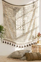 Urban Outfitters Besso Textured Fringe Tapestry