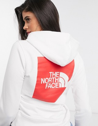 The North Face Box hoodie in white