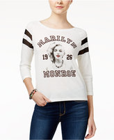Freeze 24-7 Marilyn Monroe Juniors' Illusion Portrait Graphic T-Shirt