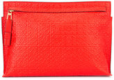 Loewe embossed clutch - women - Calf Leather - One Size