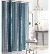 Manor Hill Sierra Sapphire 72-Inch x 72-Inch Fabric Shower Curtain