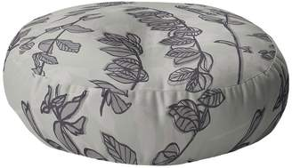 Deny Designs Mareike Boehmer Sketched Nature Branches 2 Round Floor Pillow