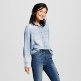 Mossimo Women's Denim Shirt Juniors')