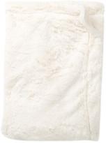 Cuddl Duds Velour & Faux Fur Blanket