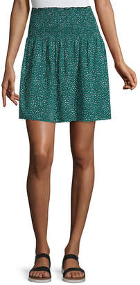 Society And Stitch Short Full Skirt- Juniors