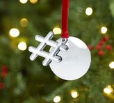 Pottery Barn Hashtag with Personalizable Tag Ornament