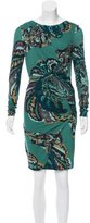 Emilio Pucci Printed Bodycon Dress